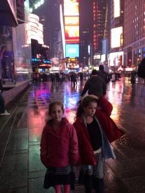 rainy Times Square!