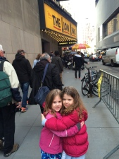 First Broadway show!
